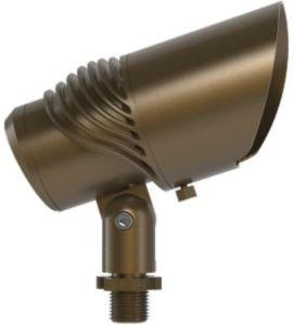O sotaque exterior à prova de luzes com material de Latão