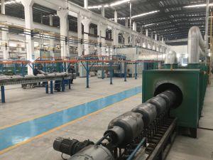 Horno de Tratamiento térmico para la bombona de gas de la línea de producción
