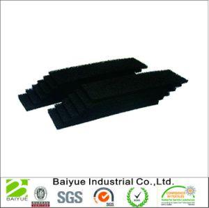 Almofada de carbono activado/preto acolchoado de Filtro