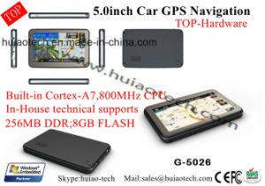 개인적인 5.0  전기 용량 접촉 GPS 항해자, Bluetooth 의 FM 전송기와 가진 차 트럭 바다 GPS 항법, 후방 사진기AV 에서, 소형 GPS 항해 체계