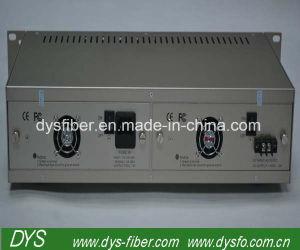 Crémaillère de Convertisseur Media de fibre optique de 16 fentes
