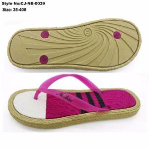 Cheap imprimé seul Mesdames Tongs EVA Chaussures Femme Sandales