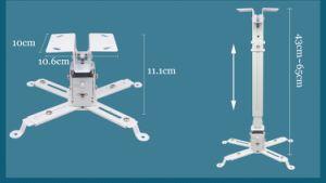 soporte de techo universal proyector ajustable de 15kg de carga de techo Soporte de proyector Soporte para proyector proyector LED
