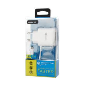 QC3.0 мобильный телефон с помощью зарядного устройства USB Type-C кабель USB
