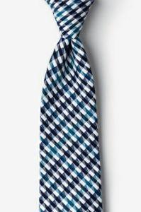 China masculina de fábrica de gravatas tingido de Fios