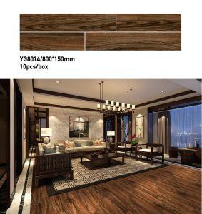 De houten Ceramiektegel van de Vloer van de Ruwe Oppervlakte van de Tegel voor de Decoratie van het Huis (800*150mm)