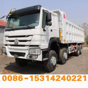 아프리카 시장에 최신 판매에 경쟁가격을%s 가진 12의 타이어를 가진 재고 아주 새로운 Sinotruk HOWO 덤프 트럭 팁 주는 사람