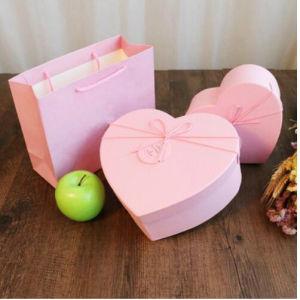 De Doos &Bag van het Hart van de Gift van het Suikergoed van de Vervaardiging van de Manier van de luxe