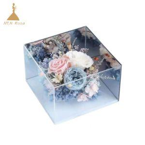中国の一流のアクリルの花ボックス製造者