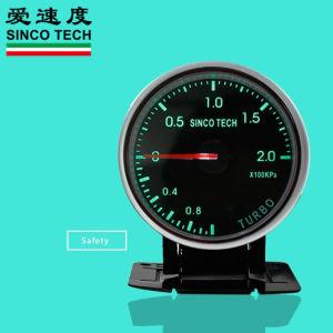 2,5-дюймовый 2000КПА универсального дисплея датчика Turbo Boost гоночной машины измерительные приборы