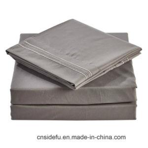 ホテルのリネン製造業者の無地の寝具一定のクイーンサイズの100 Pimaの綿のシーツセット