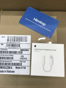 L'iPhone à 3.5mm jack casque USB plug Audio de la foudre de l'écouteur pour iPhone 7 8 X plus Adaptateur convertisseur