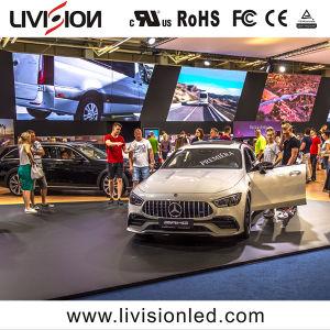 P2.6mm de alta qualidade display LED para interior interior do painel de parede LED de Vídeo a Cores Ecrã de vídeo de LED de evento para o centro de exposições de Automóveis