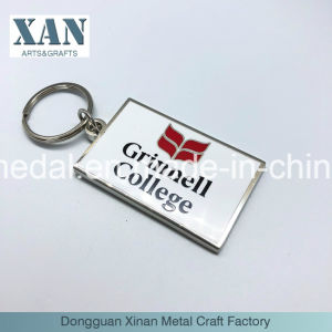 昇進のギフトの金属のエナメルKeychain/亜鉛合金のキーホルダーの工場