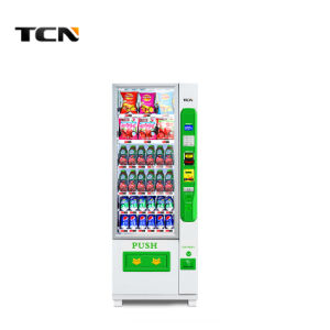 Npt Soda uma máquina automática de venda 6g com capa branca