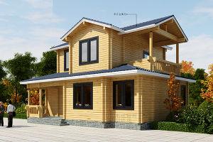 El estilo americano: el acero y madera Villa