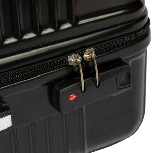 تدرّج مقصور [أبس/بك] حامل متحرّك حقيبة حقيبة مع تعقّب هويس عجلة 3 قطعات حقيبة مجموعة