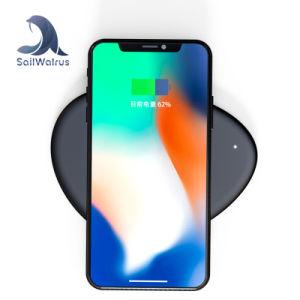 Fábrica de Shenzhen fantasía redonda almohadilla de carga inalámbrica Qi para Samsung Galaxy S8/S6/S7/S7edge/Nota5