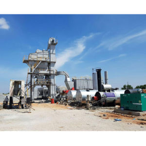 Energiesparende stationäre heiße Asphalt-Stapel-Pflanze