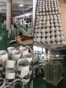 Eatractor ventilador 100mm-300mm con hojas de material ABS para el público Ventiation