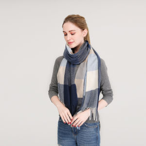 2018 lenço de Inverno para Mulheres Designer da marca Cashmere Xale Plaid cachecóis cobertor grosso