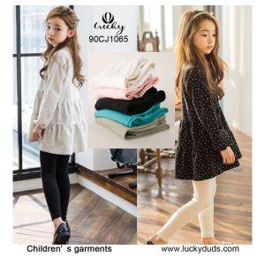 Ressort de gros de vêtements pour enfants filles chemisier Stripe Tulle jupes