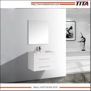 Hohe Glanz-Farbanstrich MDF-Badezimmer-Eitelkeit TM8121