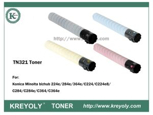 TONER TN321 FÜR Bizhub C224/C284/C364/C360/C220/C280