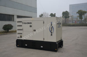 38kVA Cummins schielt leises Dieselgenerator-Set mit Ce/ISO an
