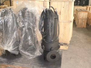 Bomba sumergible de aguas residuales con rodete Single-Vane Semi-Open