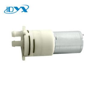 Motor eléctrico DC 12V de la bandeja de tetera de agua blanca de la bomba de diafragma Mini