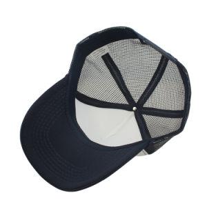 高品質100ポリエステル泡の白いトラック運転手の帽子