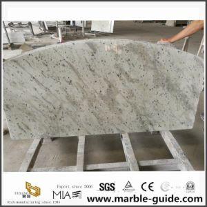 Countertop van het Graniet van Brazilië Andromeda Witte voor het Project van de Keuken/van het Bad