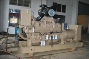 motore diesel Kt38-M di propulsione navale di raffreddamento ad acqua 447kw Cummins