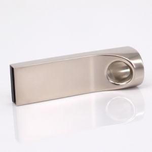 Высокая скорость металлического серебра 16 ГБ 8 ГБ с USB смартфона полноцветную печать области