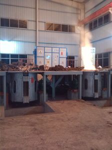Forno di fusione dell'acciaio inossidabile di induzione con le coperture di alluminio
