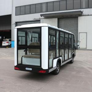 4 banco do passageiro eléctrico autocarro turístico com certificado CE