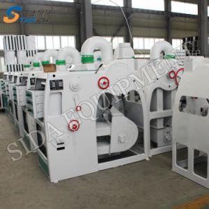 Alta calidad de la pequeña máquina de molino de arroz de 1000kg.