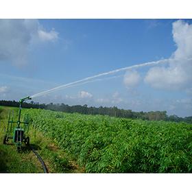 Het Lopen van de Irrigatie van het Landbouwbedrijf van de maniok LandbouwSproeier