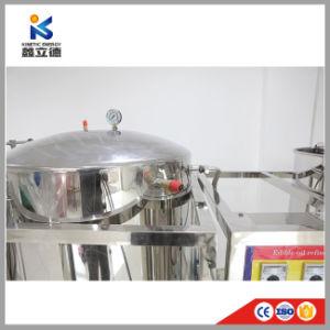 Escala pequena fábrica de refinação de óleo de girassol em bruto e prensa de óleo de soja refinado