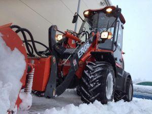 Zl08 Sneeuw V van Everun Er08 Lader van het VoorEind van de Ploeg de Mini