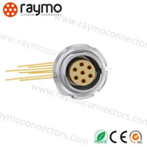 競争価格の高品質のコネクターを受けとっている互換性のあるLemos ECG 0b 6 Pinの金属の円のプッシュプル自己
