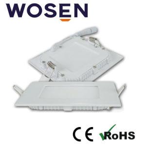 indicatore luminoso di comitato bianco di 24W LED con RoHS (quadrato)