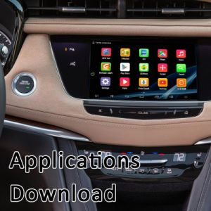 Plug & Play Android Market 6.0 GPS Navigator para 2014-2018 Cadillac Xts/Srx/ATS/CTS/XT5/com WiFi Miracast Mapa Online Google