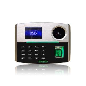 Биометрические системы контроля доступа и считывателя отпечатков пальцев время посещаемости с упора для рук (GT810)