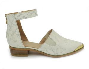 Les femmes le plus récent creux occasionnels en deux pièces Siviglia cuir sans lacets des chaussures plates