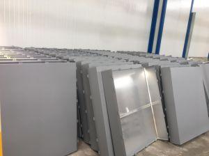 Peint de couleur en aluminium poudré de panneaux muraux perforé
