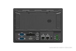 calcolatore industriale del PC del comitato 7 con l'OS di Linux o del Android