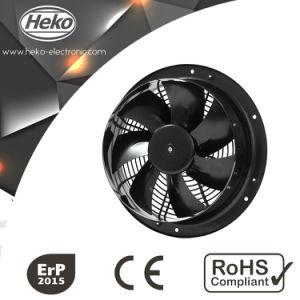 300mm 24/48VDC ventiladores axiales compactos de refrigeración con motor de rotor externo