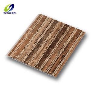 Impresión En PVC los perfiles de techo de paneles de pared laminada de estampación en caliente